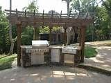 Patio with Pergola Over Fireplace Area | Outdoor Fireplaces & Fire ...