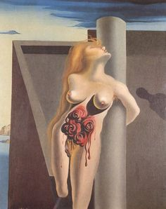 Salvador Dali - The Bleeding Roses, 1930