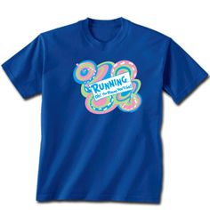 Running Oh The Place You'll Go Short Sleeve T-Shirt- Royal Blue. $19.99