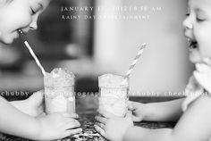 more sister fun Milk Photography, Sibling Photography, Children Photography, Photography Ideas, Chubby Cheek Photography, Belly Photos, Sibling Photos, Kid Drinks, Milk Bottles