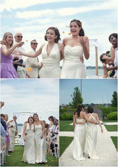 #twobrides #lgbtwedding #samesexwedding #lesbianwedding #loveislove