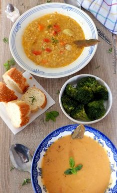 My Recipes, Vegan Recipes, Everyday Food, Finger Foods, Thai Red Curry, Entrees, Ethnic Recipes, Soups, Easy