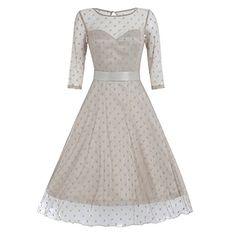 Lindy Bop 'Abigail' Dark Vanilla Polka Dot Occasion Dress... https://www.amazon.co.uk/dp/B01ENNHA5M/ref=cm_sw_r_pi_dp_x_7OqeybBFQPDJZ