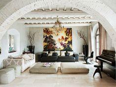 Cómo Decorar una Sala de Estar al Estilo Toscano - Para Más Información Ingresa en: http://fotosdedecoraciondesalas.com/como-decorar-una-sala-de-estar-al-estilo-toscano/