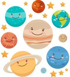 planetas para niños - Buscar con Google Space Party, Space Theme, Idee Baby Shower, Solar System Crafts, Diy And Crafts, Crafts For Kids, Class Decoration, Outer Space, Classroom Decor