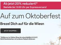 """C&A: 20 Prozent Oktoberfestrabatt für elf Tage https://www.discountfan.de/artikel/klamotten_&_schuhe/ca-20-prozent-oktoberfestrabatt-fuer-elf-tage.php Bei C&A ist jetzt auch """"ozapft"""": Noch bis zum 1. Oktober 2017 ist """"Oktoberfestmode"""" mit einem Pauschalrabatt von 20 Prozent zu haben. Die Lieferung ist gratis in die nächste Filiale möglich. C&A: 20 Prozent Oktoberfestrabatt für elf Tage (Bild: C&A.de) Der... #Mode, #Oktoberfest, #Trac"""