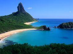 I've been to Brazil (São Paulo & Rio de Janeiro) but I'd like to explore more ... this is Fernando de http://pinterest.com/pin/412144961/#Noronha beach, Brazil