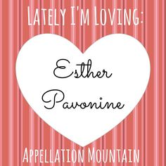 """More #namesforgirls that I'm loving lately: Esther Pavonine! The middle is a word meaning """"of peacocks"""" - like feline. But it's so rare, I think it works as a middle name, too!"""