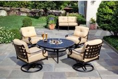 Patio Furniture Sets With Fire Pit  Contemporary Patio Furniture And Outdoor Furniture Amazing Decor