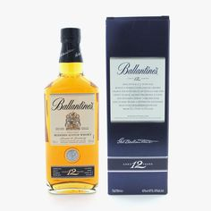 Whisky Ballantines 12 ans - Whiskys - Spiritueux - La Cave - Accueil