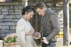 Gabrielle Rose and Josh Dallas on Once Upon a Time from The Shepherd. Gabrielle Rose, Meghan Ory, Josh Dallas, Time News, Colin O'donoghue, The Shepherd, Next Holiday, Jennifer Morrison, Great Stories