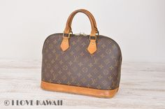 Louis Vuitton Monogram Alma Hand Bag M51130