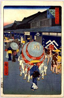 日本橋通一丁目略図