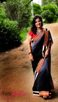 Rani Pink'k – Creative and Contemporary Saree Collection