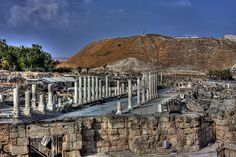 Ruins of an ancient city of Scythopolis - Beit-Shean, Israel - HDR by Yan Vugenfirer, via Flickr