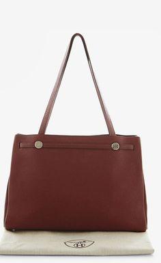 Hermès Rouge Togo Leather Kabana | VAUNTE