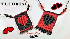 "Tutorial macrame pendent ""Heart "" / Diy tutorial"