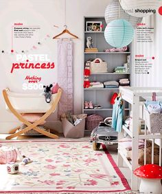 if ever a little girl in my life her room is gonna look like this!!