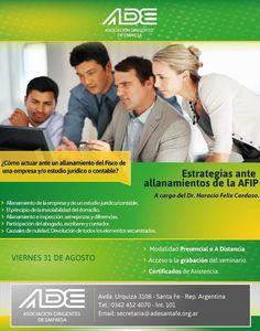 """Seminario """"Estrategias ante Allanamientos de la AFIP"""" a cargo del Dr. Horacio Cardozo (2012)"""
