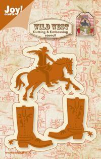 Joy!Crafts mallen 6002/0423 Paard en Laars