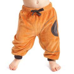 Loosefit Velour Trousers, NOSH. 100% certified organic cotton