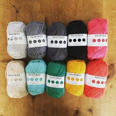 Well excited - my #paintbox order has just arrived #yarnaddict #crochet #crochetgirlgang