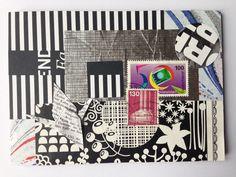 Postkarte Nr. 5 by Kefro for the DIY Postcard Swap Fall 2015 #diypostcard