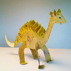 Fra pappeske til dinosaur – Hva skal vi lage Valentine Crafts, Dinosaur Stuffed Animal, Barn, Manga, Toys, Animals, Kunst, Activity Toys, Converted Barn