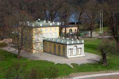 Gustav III's Pavilion (Swedish: Gustav III:s paviljong) is a royal pavilion at the Haga Park, 2 km north of Stockholm.