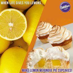 These Lemon Meringue Pie Cupcakes taste as good as they look.