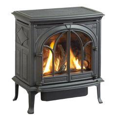 """Small gas heating stove, classic design. JØTUL GF 200 DV IPI Lillehamer 20,000 BTU. 23.75 x 22.75 x 18.5"""" http://jotul.com/us/products/stoves/j%C3%B8tul-gf-200-dv-ipi-lillehammer"""