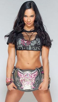 Former WWE Diva AJ Lee has her own Diva action figure. Too bad she's not back in the WWE.... http://hubpages.com/games-hobbies/action-figures-wwe