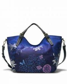 DESIGUAL Bag MYSTIC ROTTERDAM 18SAXFAT Blue Ethnic |