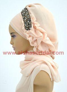 Ready To Wear Hijab  Code: HT-0246 Hijab Muslim by HAZIRTURBAN