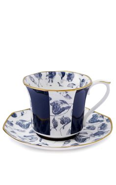 Hackney Empire Tea Cup And Saucer by House of Hackney for Preorder on Moda Operandi