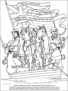 ... Coloring Book of the American Revolution | Additional photo (inside page) ...