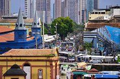 Mercado Ver-O-Peso, maior feira livre da América Latina. Belém - Pará - Amazônia.