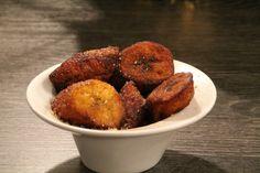 Bananes plaintain frits