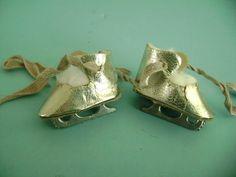 Vintage Oilcloth Doll Shoes Ice Skates Madame Alexander Arranbee Littlest Angel | Dolls & Bears, Dolls, Clothes & Accessories | eBay!
