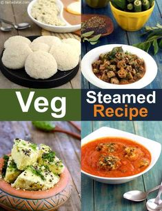 The Importance of Vitamin in a Vegetarian Diet. It's something we become aware of all the time: individuals, in general, do not eat healthy. The average diet plan includes too much hydrogenated fat and b Steam Recipes, Veg Recipes, Cooker Recipes, Indian Food Recipes, Healthy Recipes, Steam Food Recipe, Vegetarian Recipes Of India, Recipies, Vegetarian Italian
