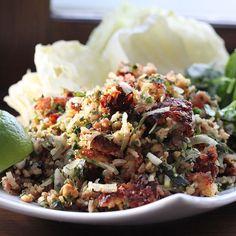 Lao Crispy Rice Salad - Nam Khao Recipe on Food52 recipe on Food52