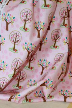 Hoos in the Forest Pink by Riley Blake
