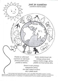 den země pracovní listy - Hledat Googlem Aa School, School Clubs, Colouring Pages, Coloring Books, Earth Day Activities, Across The Universe, Peace On Earth, Book Week, Elementary Science