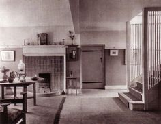 The Orchard, Chorleywood, interior design by C.F.A. Voysey