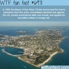 Key West, Florida - WTF fun fact