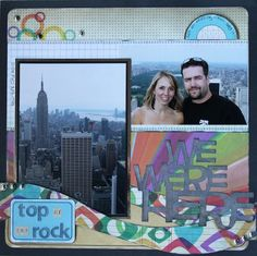 Live-Dream-Create Creations The Rock, Polaroid Film, Scrapbook, Live, Create, Projects, Cards, Log Projects, Scrapbooks