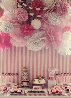 defs wanna have an adorable sweet table!