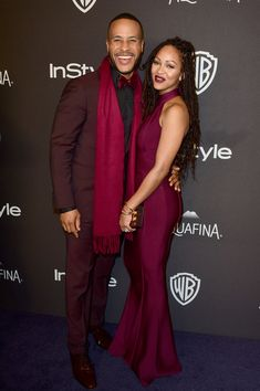 Meagan Good Photos Photos - Author DeVon Franklin and actress Meagan Good attends InStyle and Warner Bros. 73rd Annual Golden Globe Awards Post-Party at The Beverly Hilton Hotel on January 10, 2016 in Beverly Hills, California. - 2016 InStyle and Warner Bros. 73rd Annual Golden Globe Awards Post-Party - Arrivals