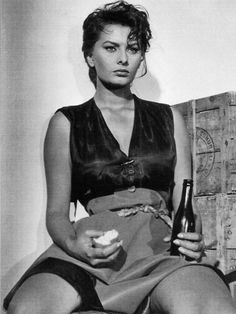 Sophia Loren in The River Girl, 1954