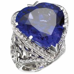 Gorgeous Tanzanite ring.